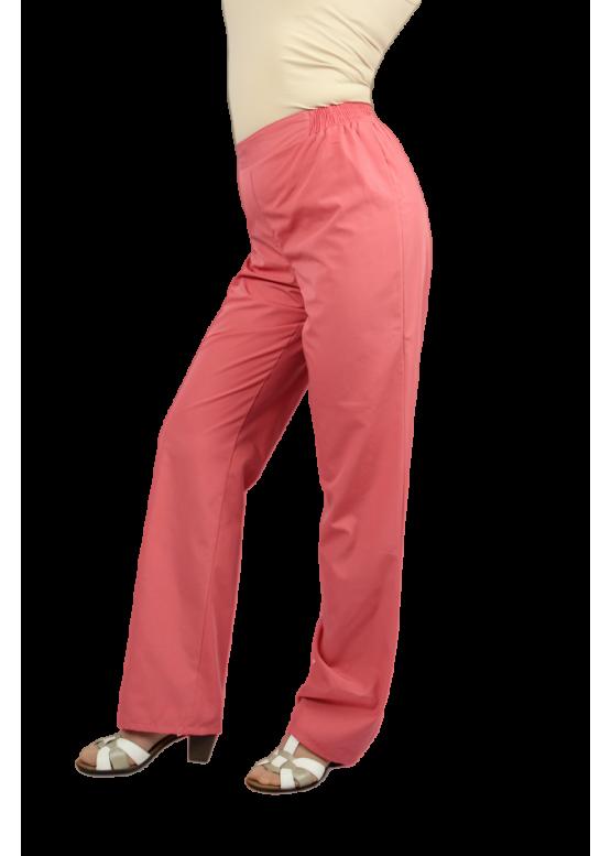 Женские медицинские брюки Б-01. Ткань ТИСИ (35%хлопок, 65% п/э).