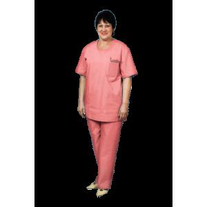 Костюм хирурга женский, персиковый, К-12