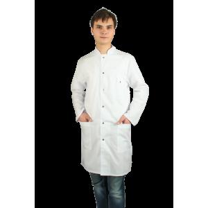 Стильный мужской медицинский халат Х-092