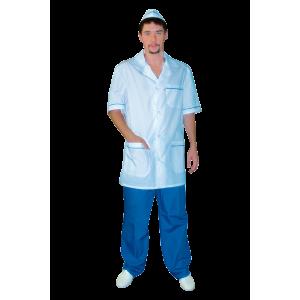Классический мужской медицинский костюм К-404