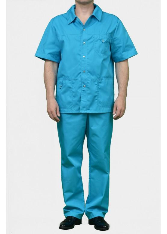 Медицинский костюм К-203-Бирюза