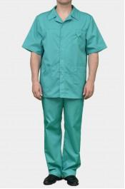 Медицинский костюм К-203-зелень