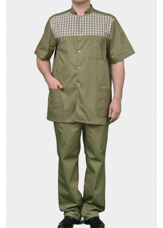 Медицинский костюм К-290 зелёный